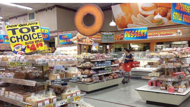 ハワイのドンキ店内で製造しているパンは大人気