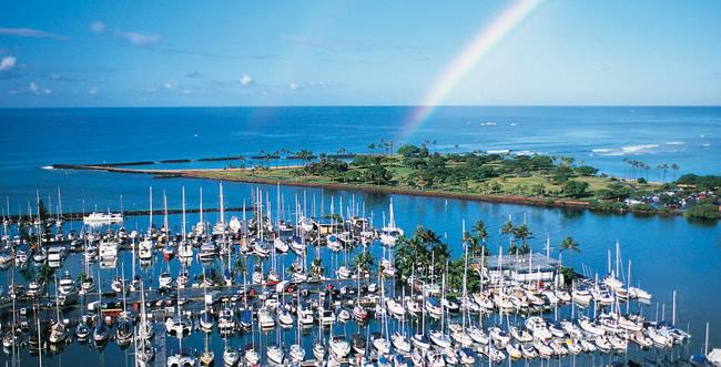 ビジネスにもレジャーにもアクセス便利なハワイプリンスホテル