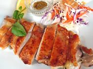 チキンの塩焼き ゆず胡椒