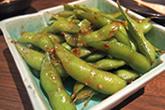 枝豆のピリ辛炒め