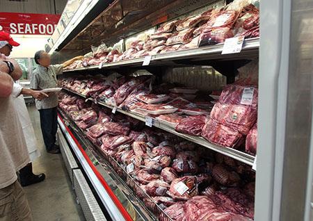 ハワイのコストコのお肉売り場