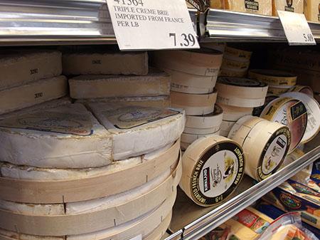ハワイのコストコの輸入チーズ