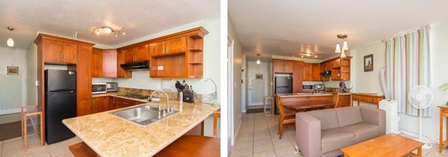 ハワイ賃貸 シーサイドタワーズ 802号室