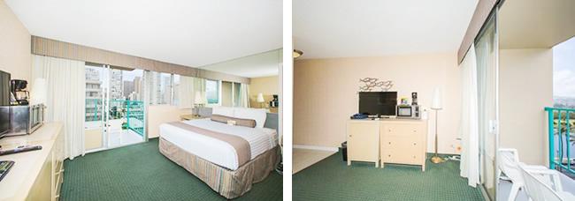 ハワイ売り物件 アロハサーフホテル 912号室