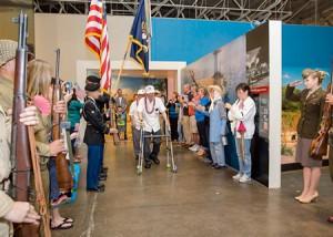 太平洋航空博物館10周年「戦争を知る」恒例イベント開催