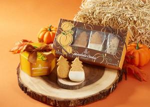 ホノルルクッキー 秋の味覚 パンプキンのクッキーが登場