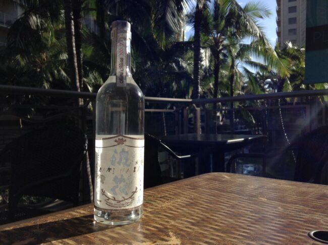 ハワイの芋焼酎「波花」春仕込み新酒を入荷しました!