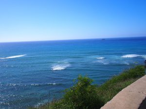 あまりに天気がいいのでサンデイビーチまでドライブしてきました。前篇