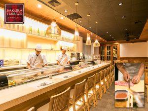 サウスキングの桜テラスに待望の寿司カウンターオープン!