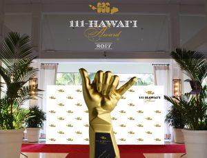 「111-ハワイアワード」授賞式がハレクラニホテルで開催