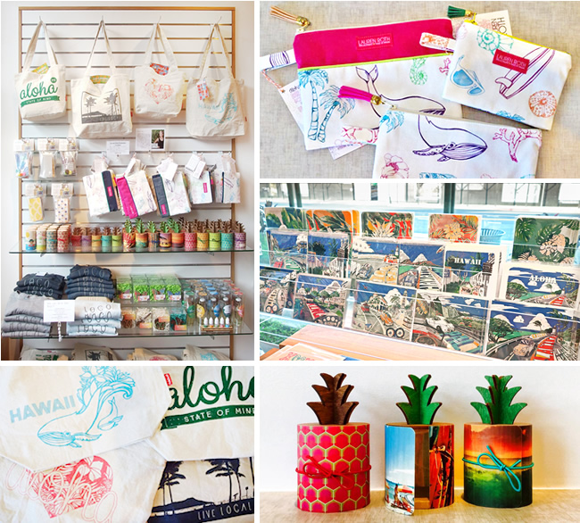 ハワイの本屋 博文堂書店 メイドインハワイ商品