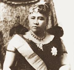 ハワイ王朝第八代最後の国王、リリウオカラニ女王