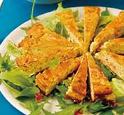 ロミロミサーモンのチーズケーキサラダ
