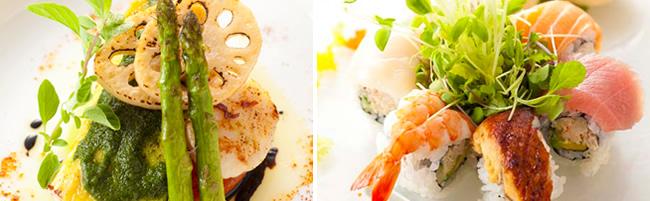 鉄板&寿司カイワのお料理