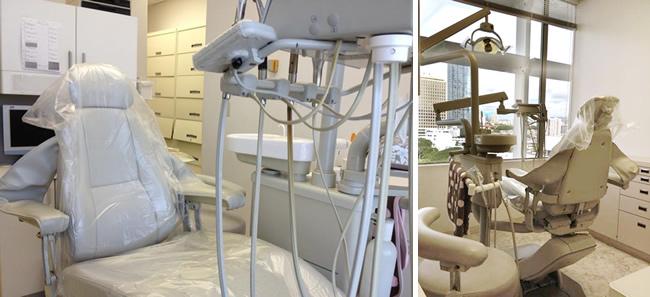 ホノルル歯科医院の診察室