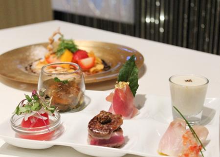 KAIWA 鉄板&寿司の クリスマス スペシャルコース