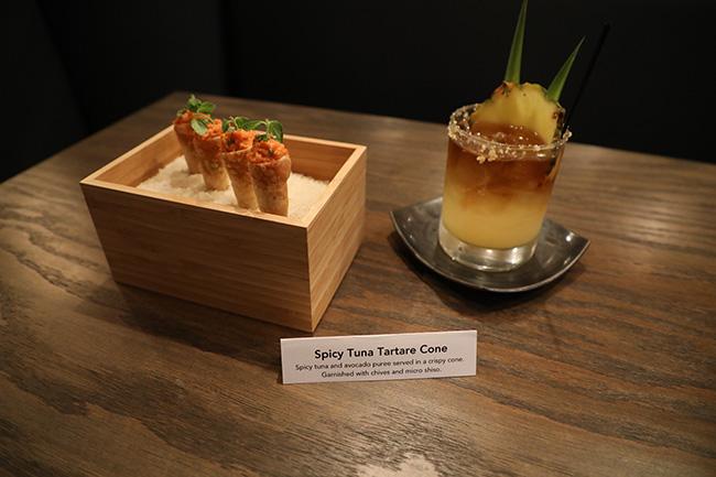 Spicy Tuna Tatare Cone