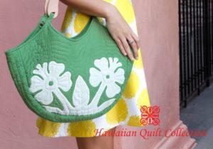 ハワイアン・キルト・コレクション、雅子さまご着用のクラシックハンドバッグ再販