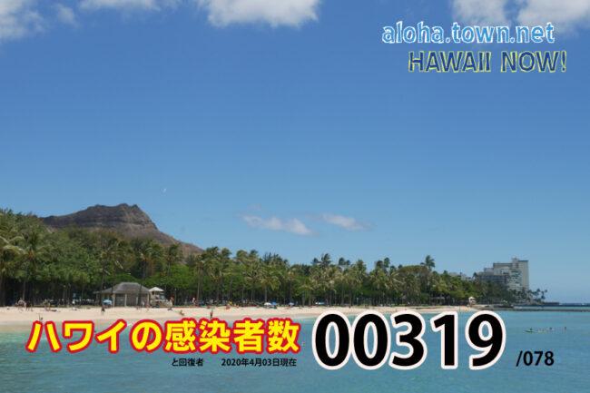 ハワイの現状(4月03日更新!)