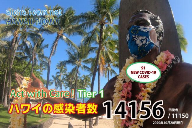 更新!ハワイの現状 (10月20日update)